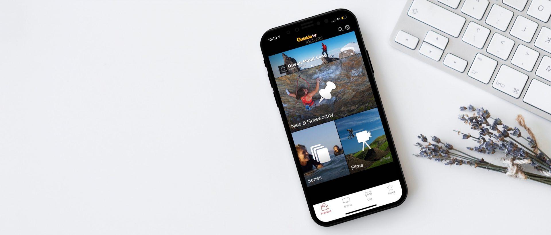 Outside TV Mobile App Case Study