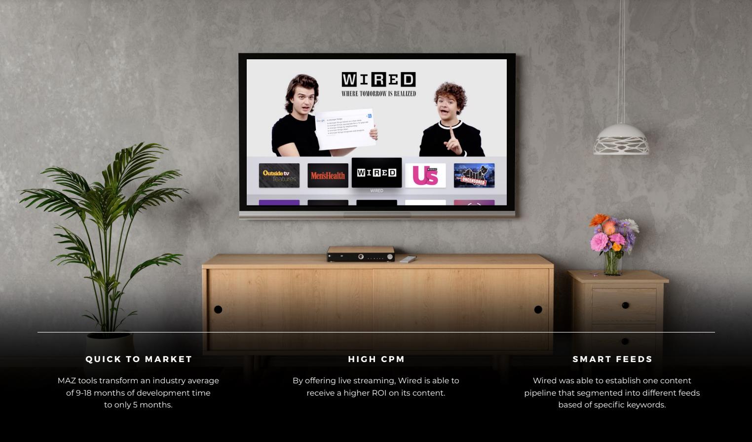 wired ott tv app case study