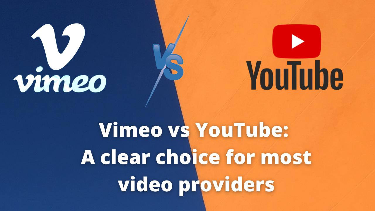 Vimeo vs. YouTube